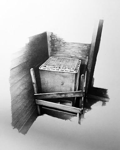 sauna, self, therapy, drawing,