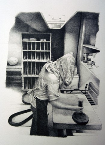 Sean Lyman, Drawing, Graphite, Missouri State University