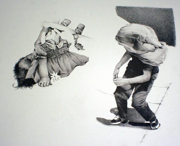 Sean Lyman, springfield, aritst, drawing, missouri state university, facebook,