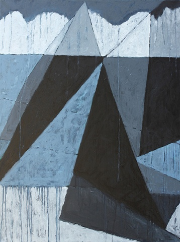 Contemporary Art/ Painting/ Oil,   Sea Geometry No.145