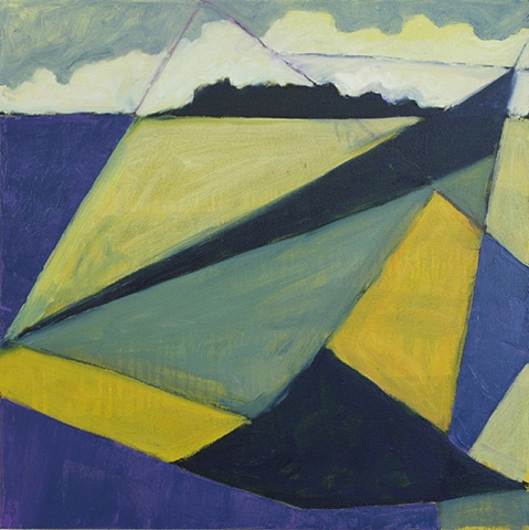Contemporary Art / Painting / Oil  , Sea Geometry No. 152
