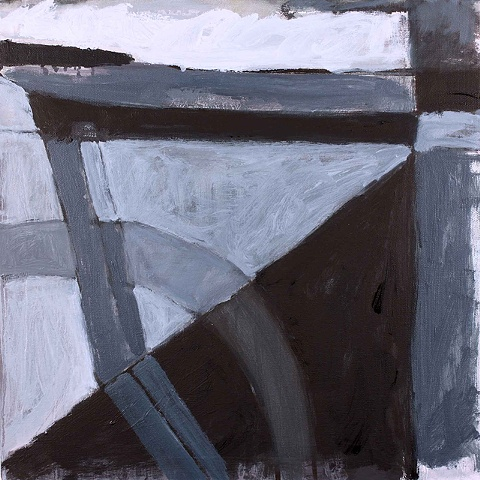 Contemporary Art/ Painting / Oil,   Sea Geometry No. 141,