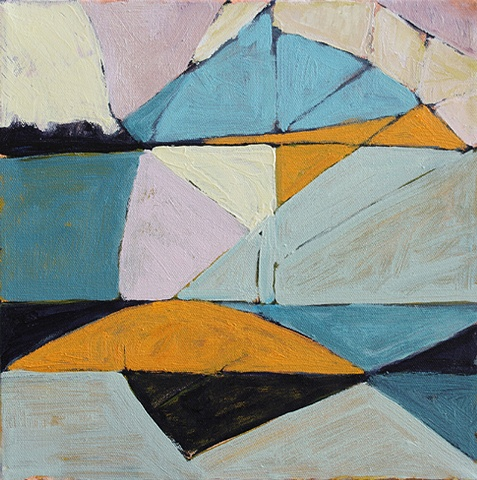 Contemporary Art / Painting / Oil Sea Geometry No. 146
