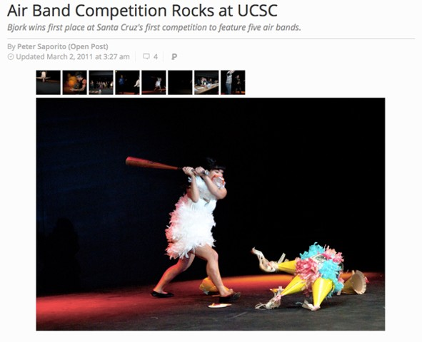 Air Band Competition Rocks at UCSC