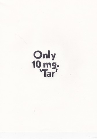 "Only 10 mg. ""Tar"""