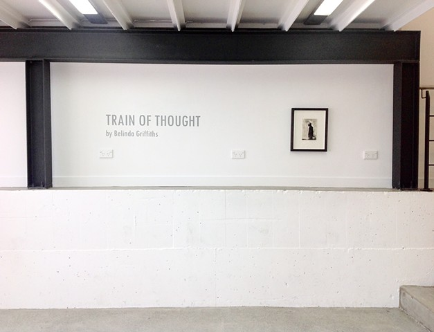Installation shot for Train of Thought