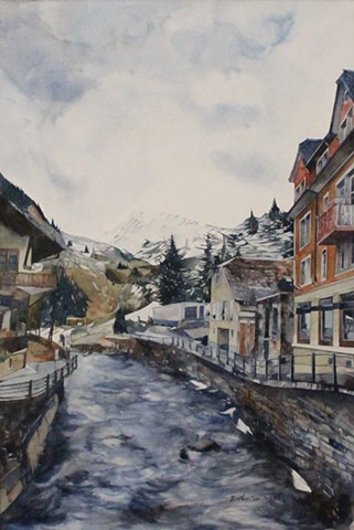Rain and Snow in Andermatt