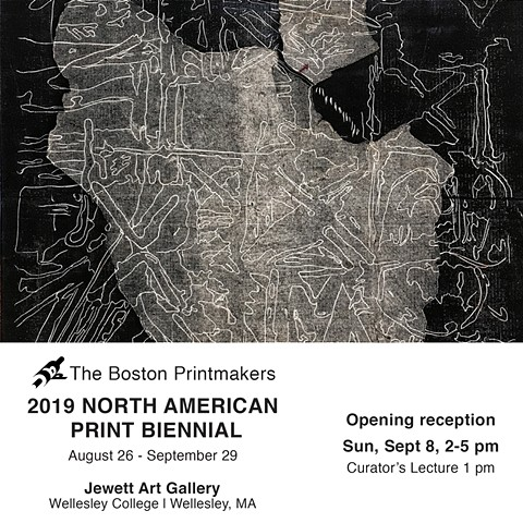 Group Show: Boston Printmakers 2019 North American Print Biennial
