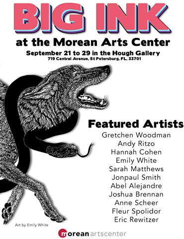 Group Show: BIG INK at the Morean Arts Center