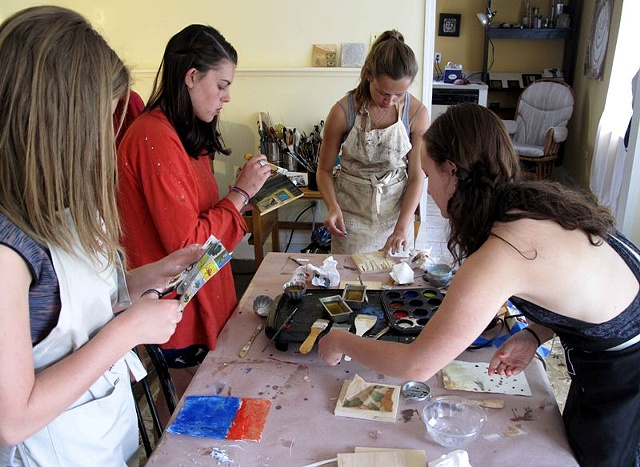 Encaustic Painting Party