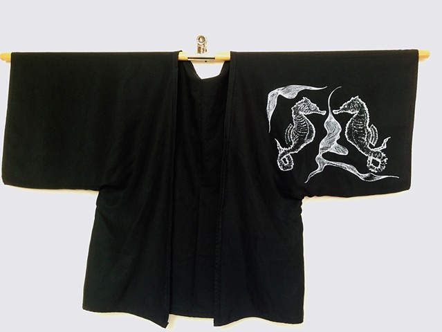 Kimono 'Water' (front side)