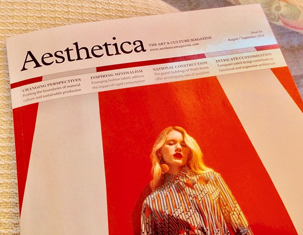 Aesthetica magasin's cover