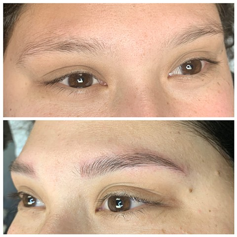 Microblading and Piercing  by Kori