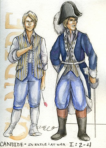 Candide as Soldier and in Exile from Westphalia