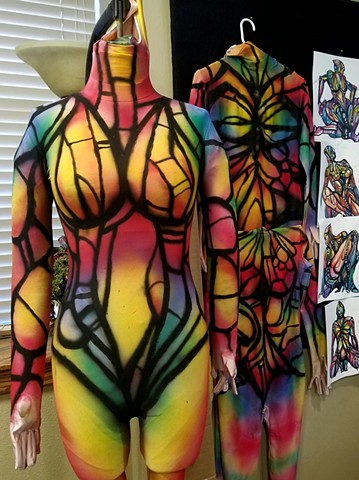 Aerial Airbrushed Bodysuits