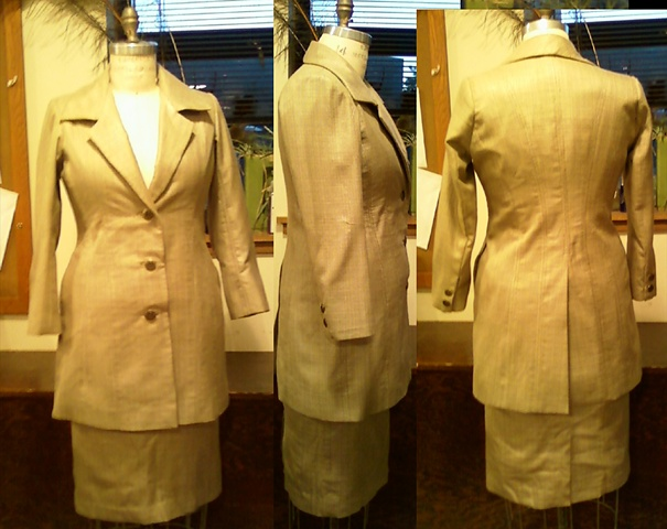 Women's Tailored Silk Suit