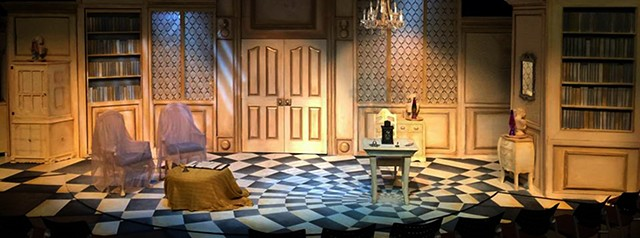 Directed by Patrick Walsh, Scenic Design by Mallory Prucha