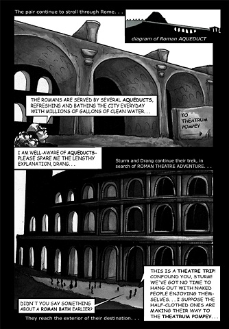 The Adventures of Sturm and Drang: Theatre History Comic (in Collaboration with Dr. William Grange)