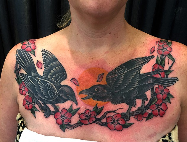 alana robbie, alana tattoos, tattoo, tattooer, lady, tattooist, tattoo artist, woman, female, portland, oregon, pdx, traditional