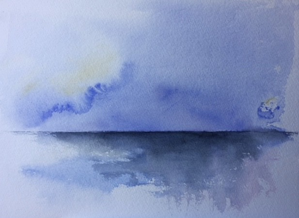 Marine aquarelle
