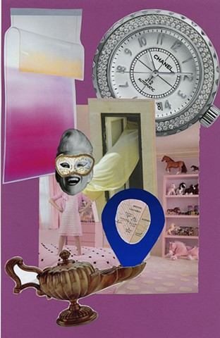 Emily Ellis, Collage, Art, Qualitative Research