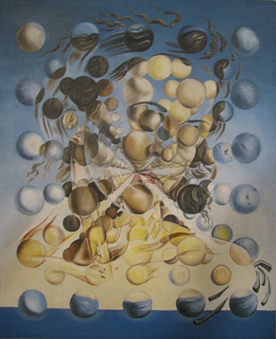 REPRODUCTION: Dali's 'Galatea of the Spheres' (1952)