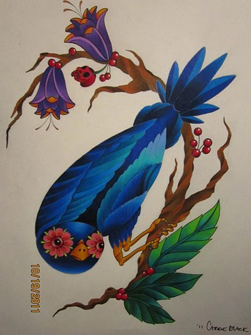 colored pencil design from 2011