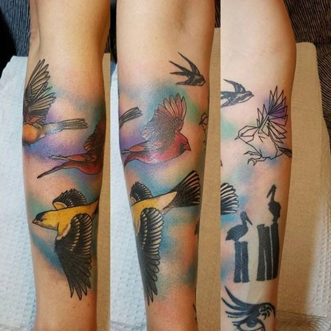 Carrie Black Tattoo