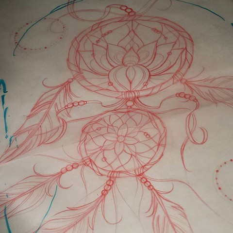 lotus dream catcher
