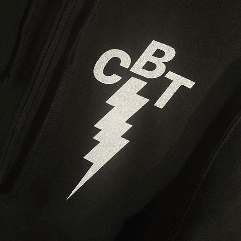 Carrie Black Tattoo logo on the front
