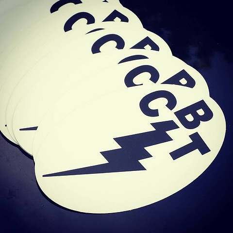 new white vinyl stickers!