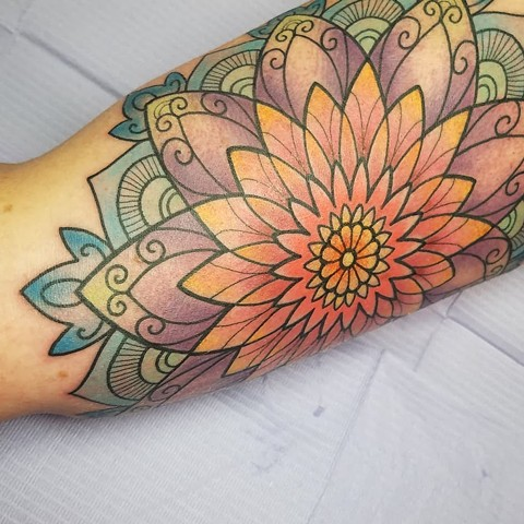 inner upper arm mandala