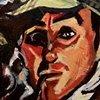 Likeness of Basil Rathbone as Sherlock Holmes.