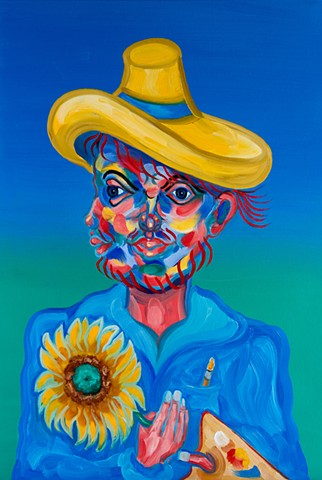 Tribute to van Gogh.