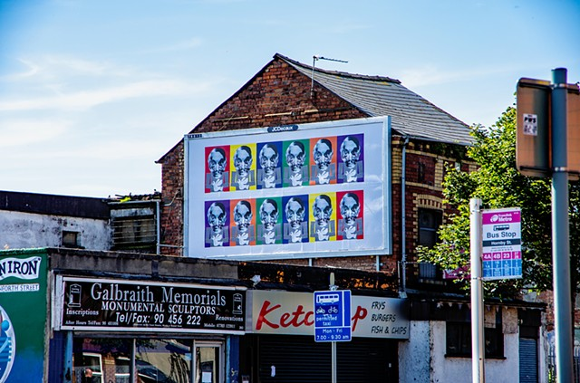 Art Billboard East  Belfast 2016.