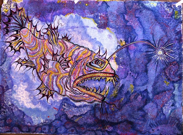 Angler fish  by Dorothy Graden