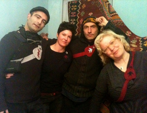Heart Protectors in Tbilisi, Republic of Georgia