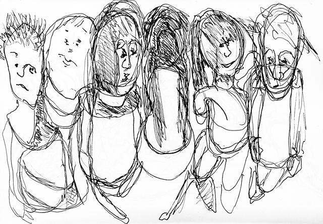 Untitled, image from sketchbook