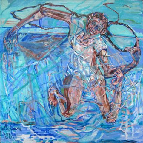 Hindu Swimmer