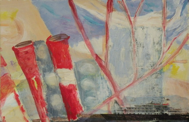 Shipping Lanes   by Delia Robinson