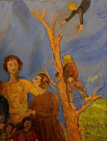 pandemic art, covid19 art. bear, beautiful,