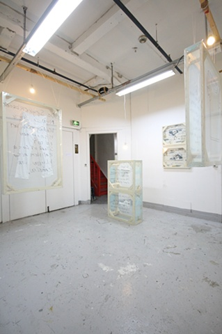 A wrapped acceptation of an compulsive obsession. (Installation view 2)