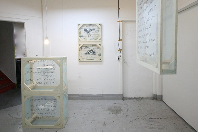 A wrapped acceptation of an compulsive obsession. (Installation view 3)