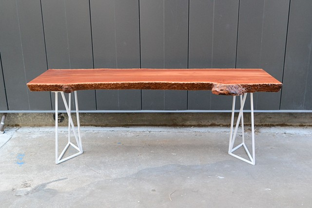 Iron Bark Eucalyptus Bench/Table