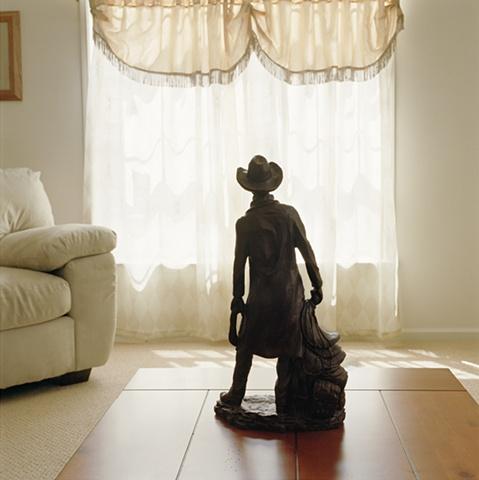 Coboy figurine, manufactured display home, © Amy Eckert www.amyeckertphoto.com