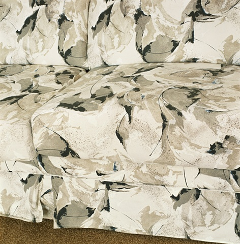 Sofa upholstery, manufactured display home, © Amy Eckert www.amyeckertphoto.com
