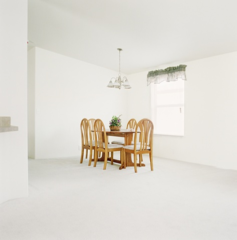 Dining room set, manufactured display home, © Amy Eckert www.amyeckertphoto.com