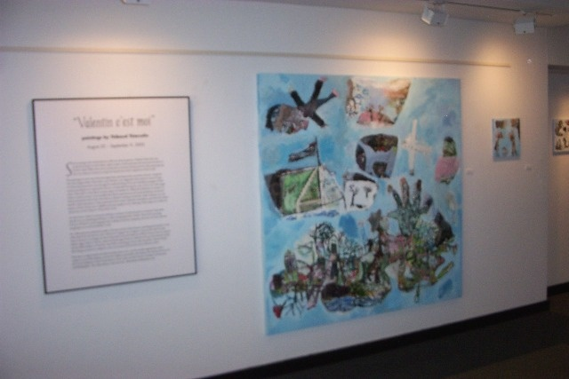 Bernstein Gallery, Woodrow Wilson School, Princeton University, Curator : Kate Somers