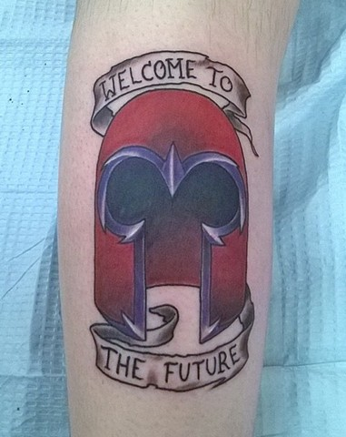 X-men, x-men tattoo, magneto, magneto tattoo, marvel villains, comic book characters, tattooing, tattoo shop, Kissimmee, Kissimmee tattoo shop
