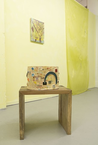 Yellow installation shot